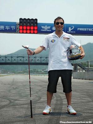 O'Young at Zhuhai International Circuit, July 2008