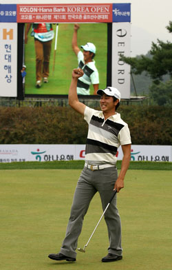 Bang Sae-moon, Korean Open, 2008