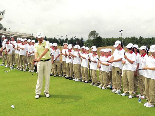 Junior training at Huangshan