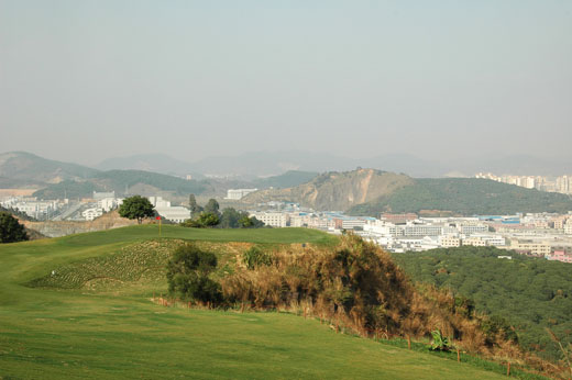 View fron the tenth at Fenghuangshan