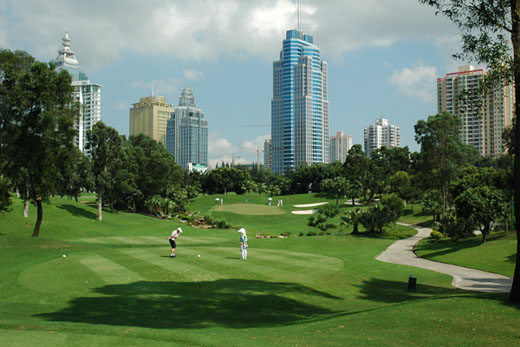 Shenzhen Golf Club, C Course, 6th hole