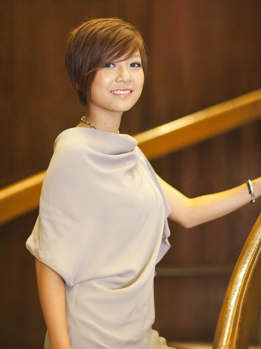 Stephanie Ho at the Foreign Correspondents Club Hong Kong