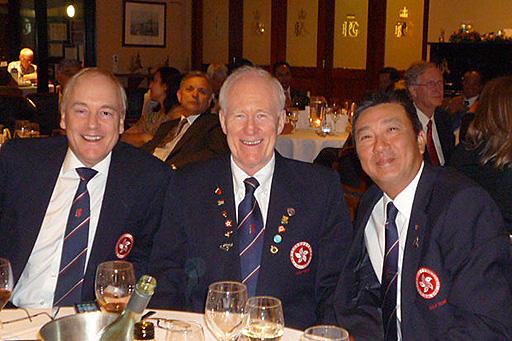 Tony Taylor, Joe Pethes and William Chung