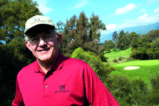 Dr. Joseph Parent: Author of best selling book, Zen Golf