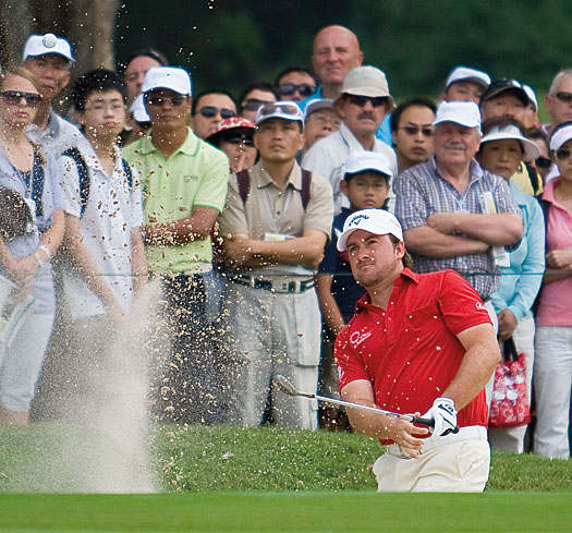 McDowell featured at Fanling during the Hong Kong Open 2010