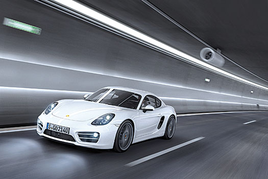 The Cayman is better suited to real-world driving