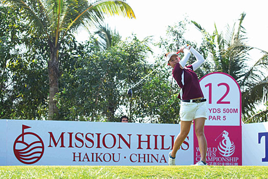 Michelle Cheung became the first Hong Kong golfer to make the cut at a Ladies European Tour event