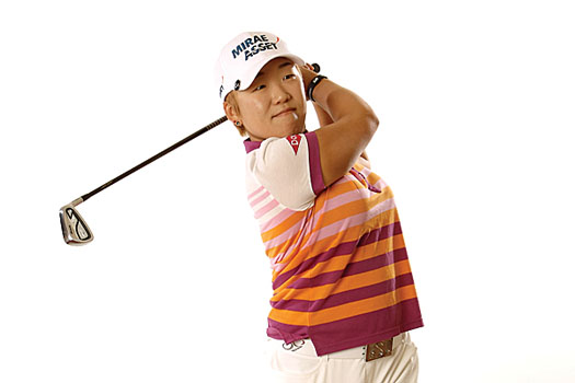 Two-time Women's British Open champion Jiyai Shin