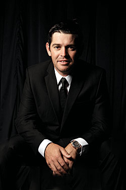 Oosthuizen dresses up for the Gala Dinner