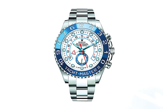 The all-new Rolex Yachtmaster II