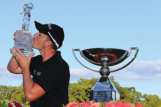 With his FedEx Cup success, Henrik Stenson is now ranked fourth in the world