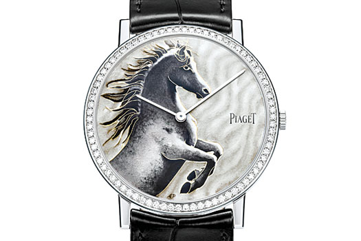 Each of the two models is issued in a limited and numbered edition of 38 pieces