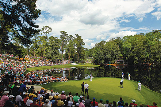 """The key to Augusta is the greens"""