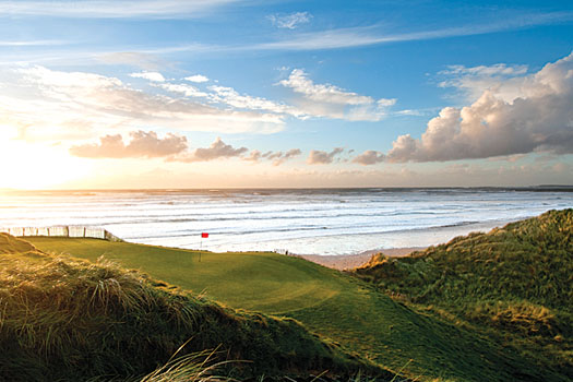 The picturesque 14th at Doonbeg