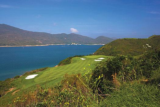 The East Course at The Jockey Club Kau Sai Chau features wall-to-wall Seashore Paspalum