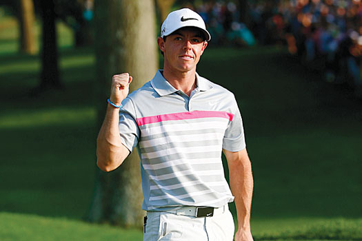 Rory McIlroy will lead a European side heavily fancied to retain the Ryder Cup