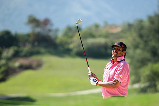 Kapil Dev at the Asia- Pacific Seniors Amateur Championship