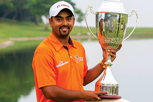 In-form Indian Anirban Lahiri claims the Venetian Macau Open for the first time