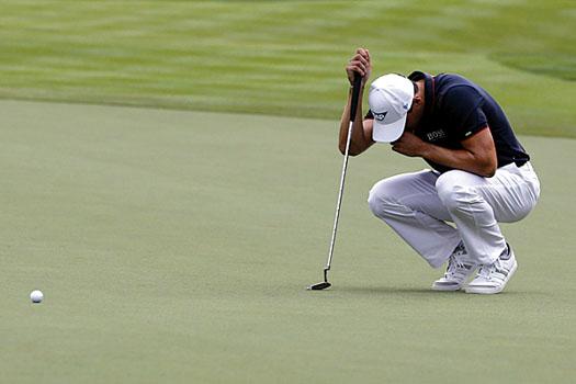 Martin Kaymer let slip a 10-stroke lead in Abu Dhabi