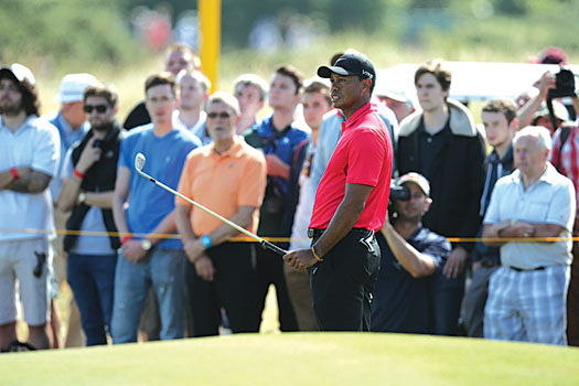 Tiger Woods has been tamed by a crippling inability to chip the ball as intended