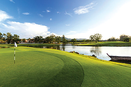 Laguna Phuket Golf Club is a course built around the philosophy of 'less is more'