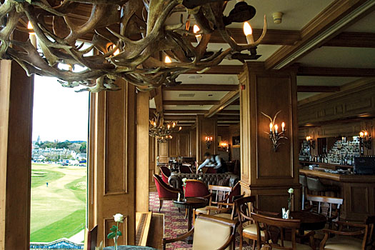 The Road Hole Bar at the Old Course Hotel
