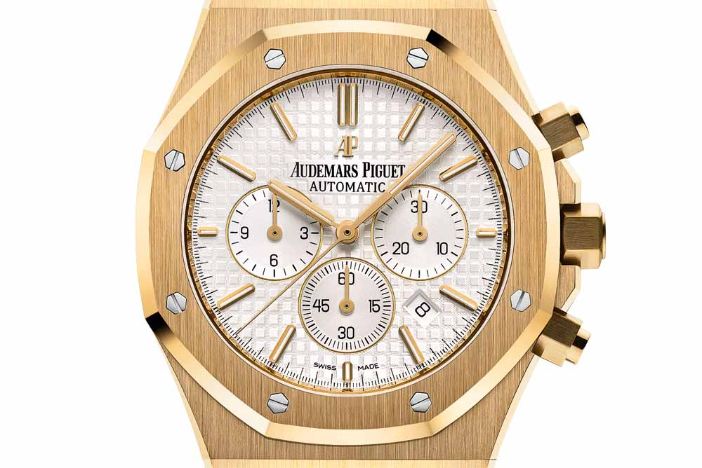The Royal Oak Chronograph in 18-carat gold