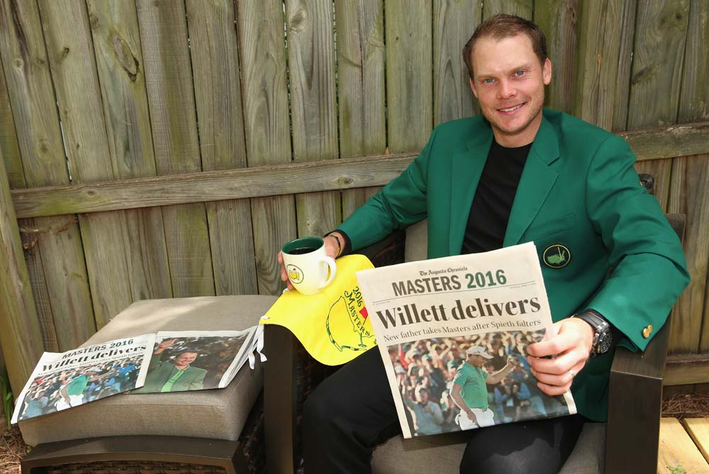 The morning after the night before was just as good for Danny Willett