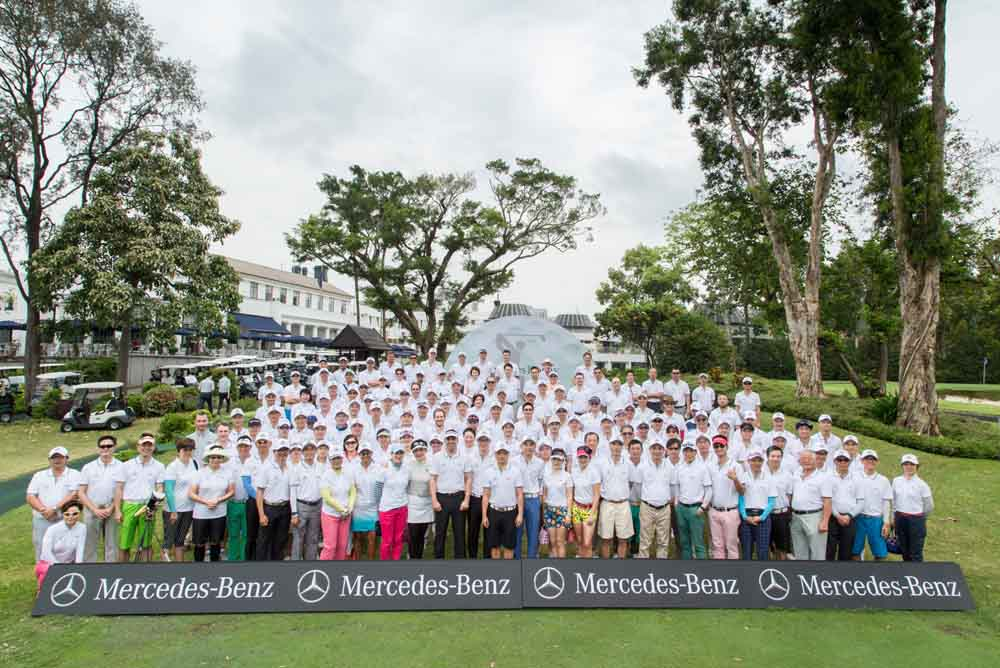 The MercedesTrophy was celebrating its eighth edition in Hong Kong