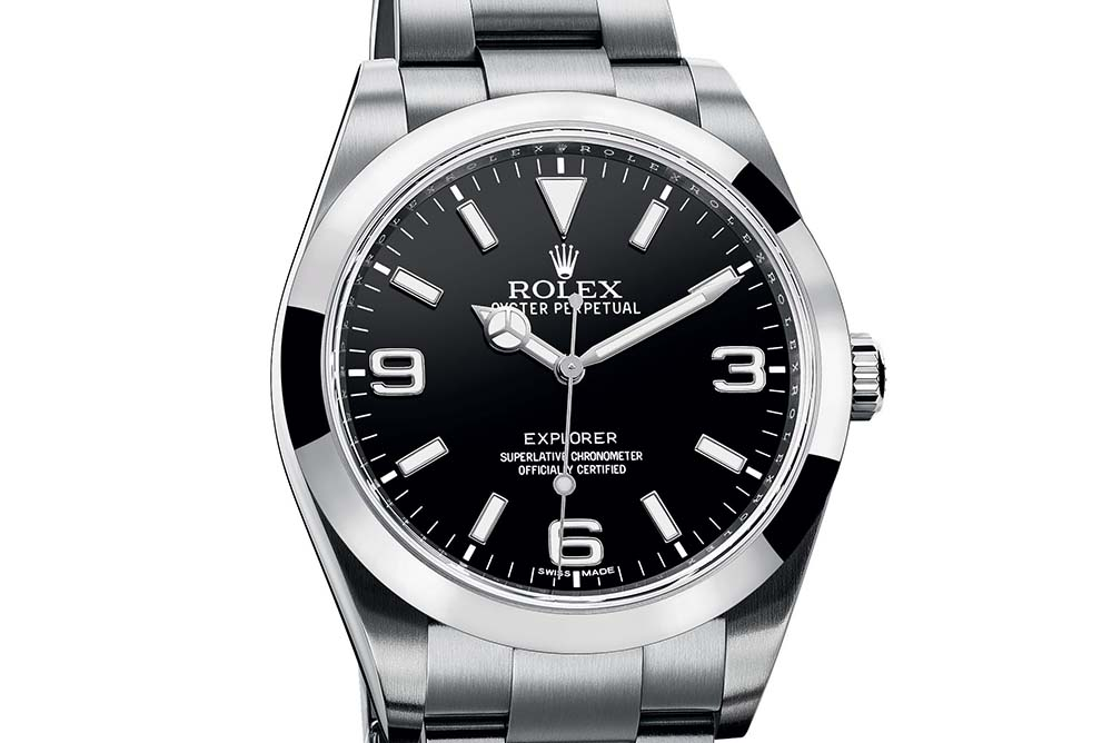 The new Rolex Explorer