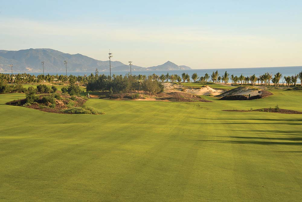 The Nicklaus-designed course at Quy Nhon is one of the newest in Vietnam