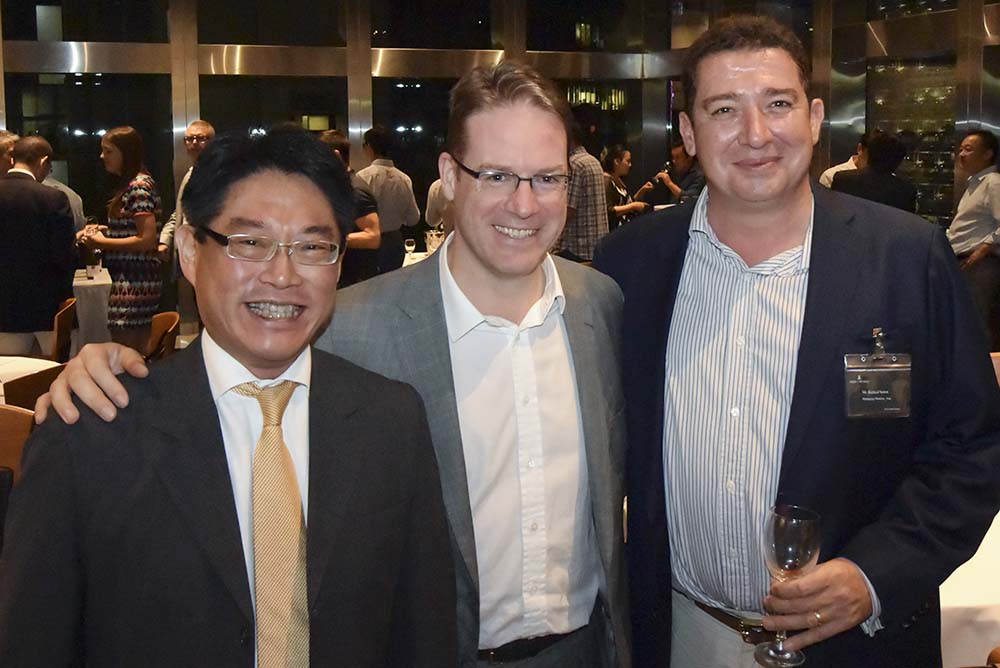 Reynold Chan, Stephen Gore and Richard Sutton