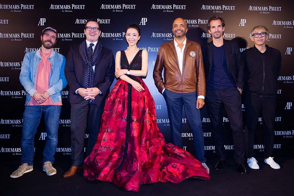 Alexandre Joly, François-Henry Bennahmias, Zhng Jingchu, Olivier Audemars, Mathieu Lehanneur, Cheng Ran