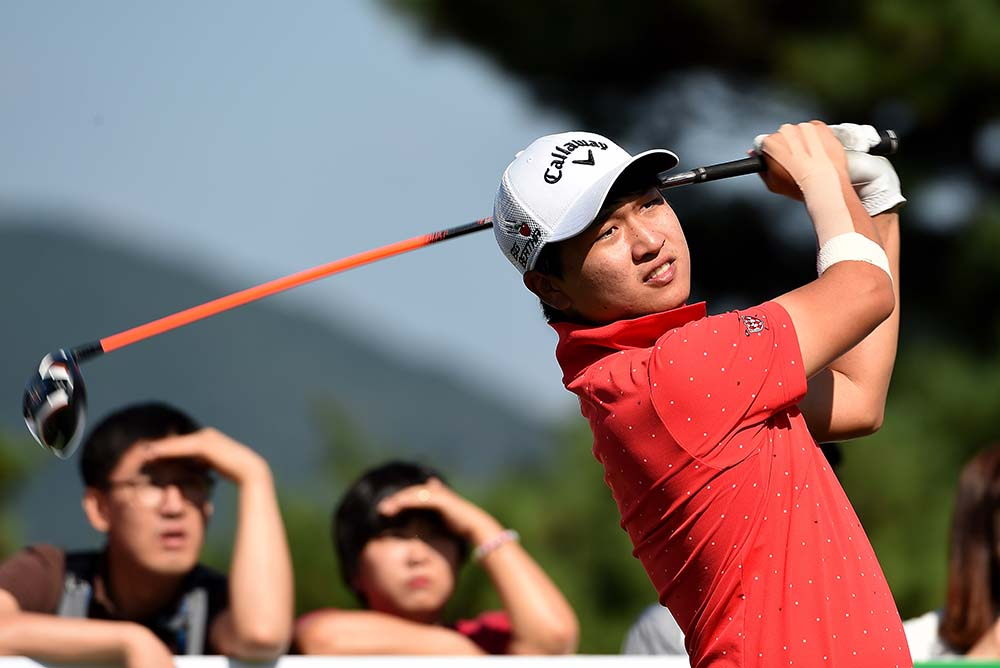 Korea's Jeunghun Wang was ranked in third of the Order of Merit in 2016