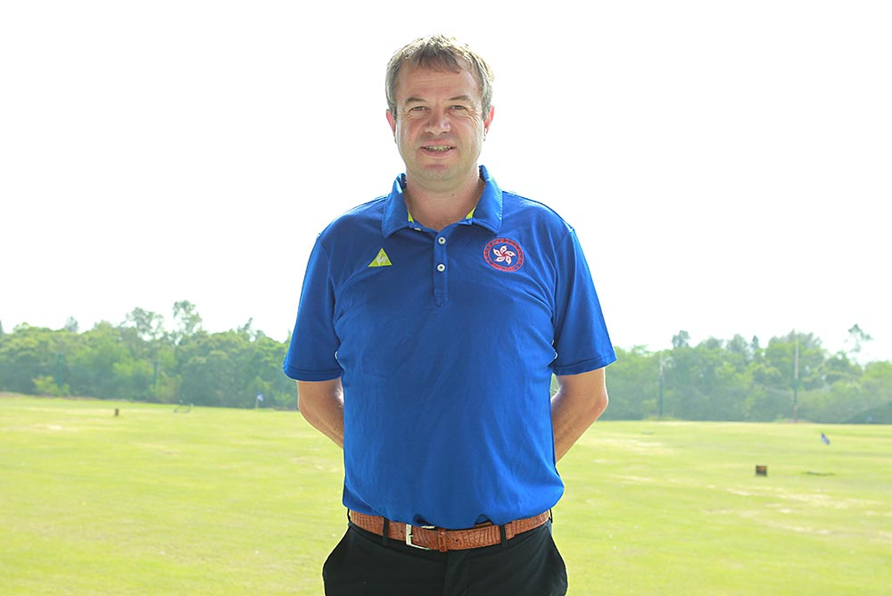 HKGA Golf Development Director Jon Wallett