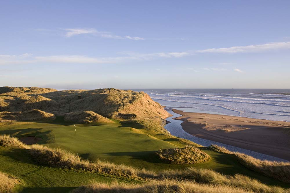 Spectacular links layout set amongst the Great Dunes of Scotland