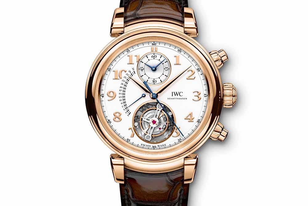 Da Vinci Tourbillon Rétrograde Chronograph (Ref. IW393101)