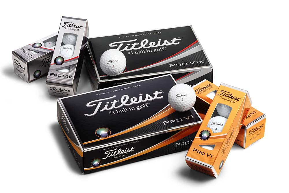 The new Titleist 2017 Pro V1 and Pro V1x golf balls are available in golf shops of Hong Kong now