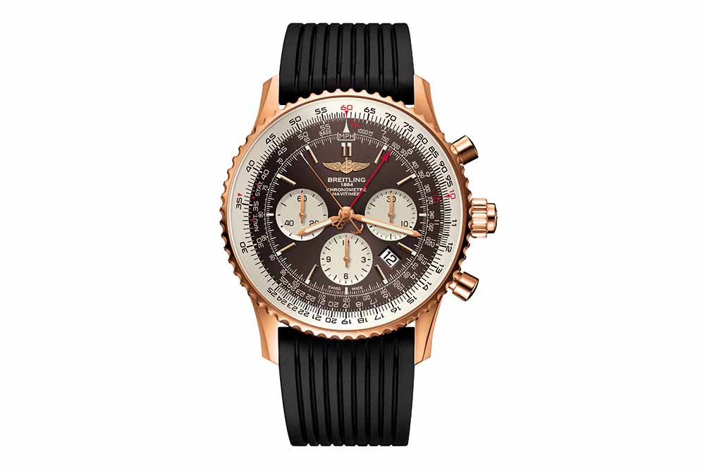 Breitling Navitimer Rattrapante 250-piece red gold limited edition