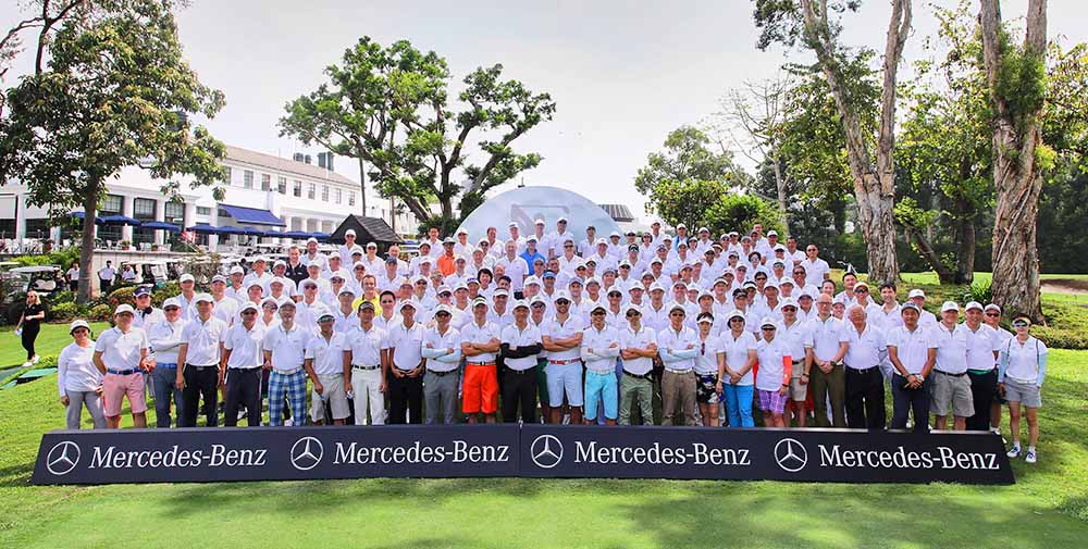 The ninth MercedesTrophy Hong Kong 2017 at the Hong Kong Golf Club