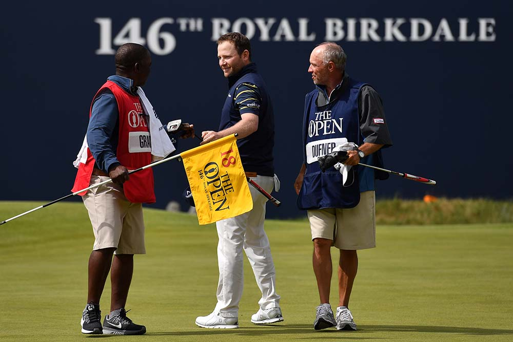 Grace became the first man in golf history to shoot a round of 62 in Major