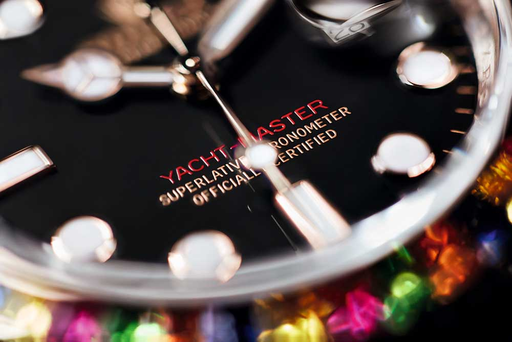 Covered by the Superlative Chronometer certification redefined by Rolex