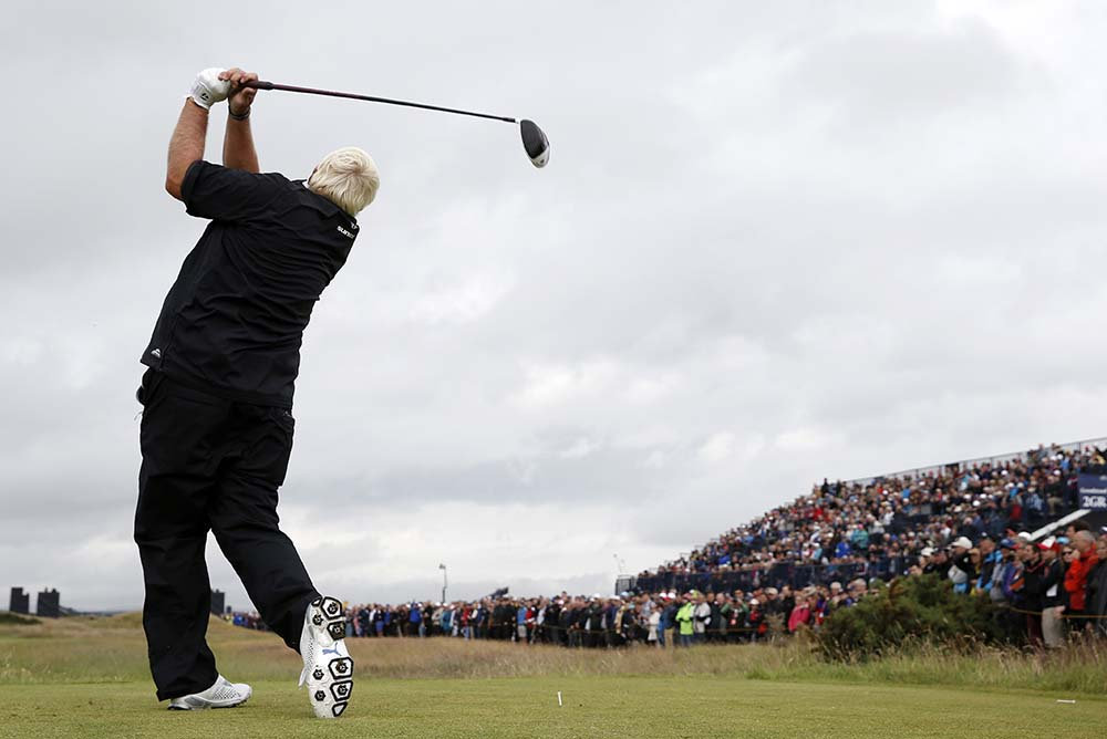 John Daly during the 2015 Open Golf Championship