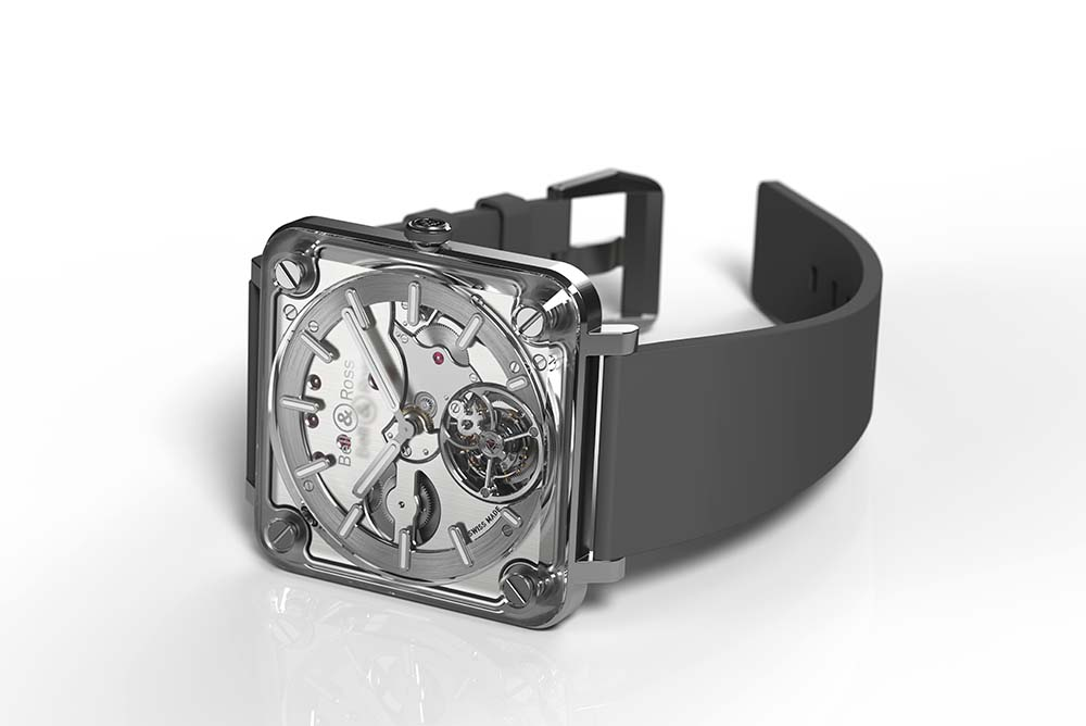 BR-X2 Tourbillon Micro Rotor is the second generation of its X Collection