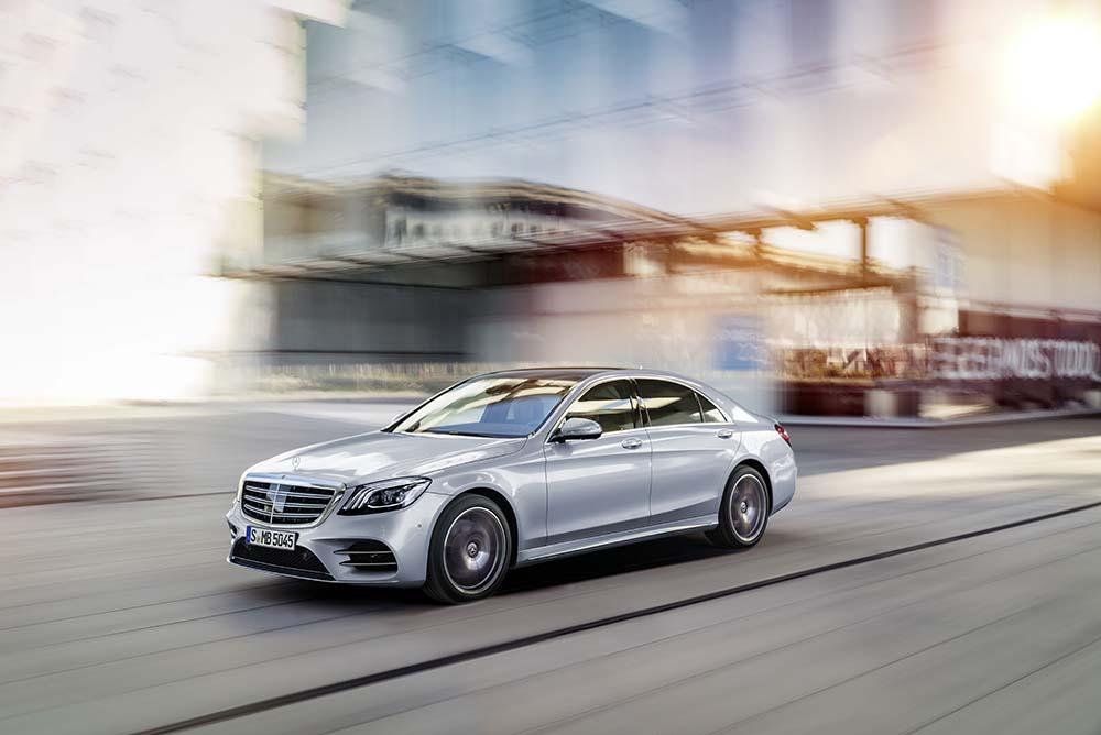 Mercedes-Benz new S-Class AMG line