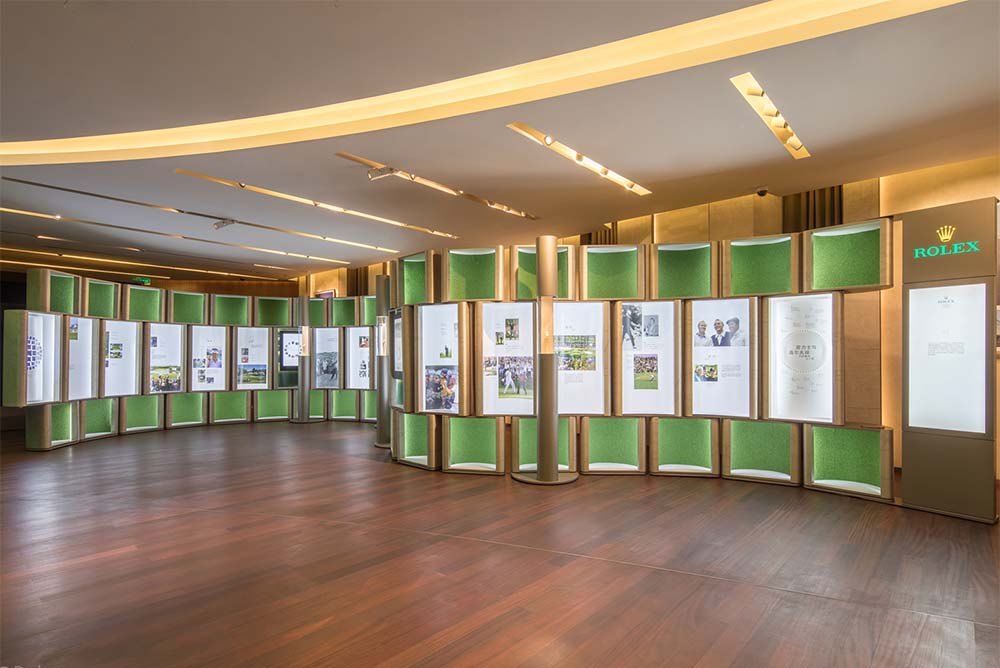 """50 Years of Rolex and Golf"" exhibition"