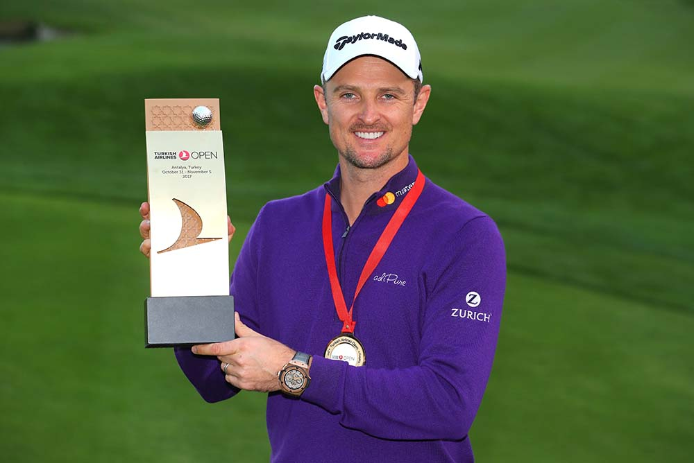 Justin Rose wins back-to-back for the first time