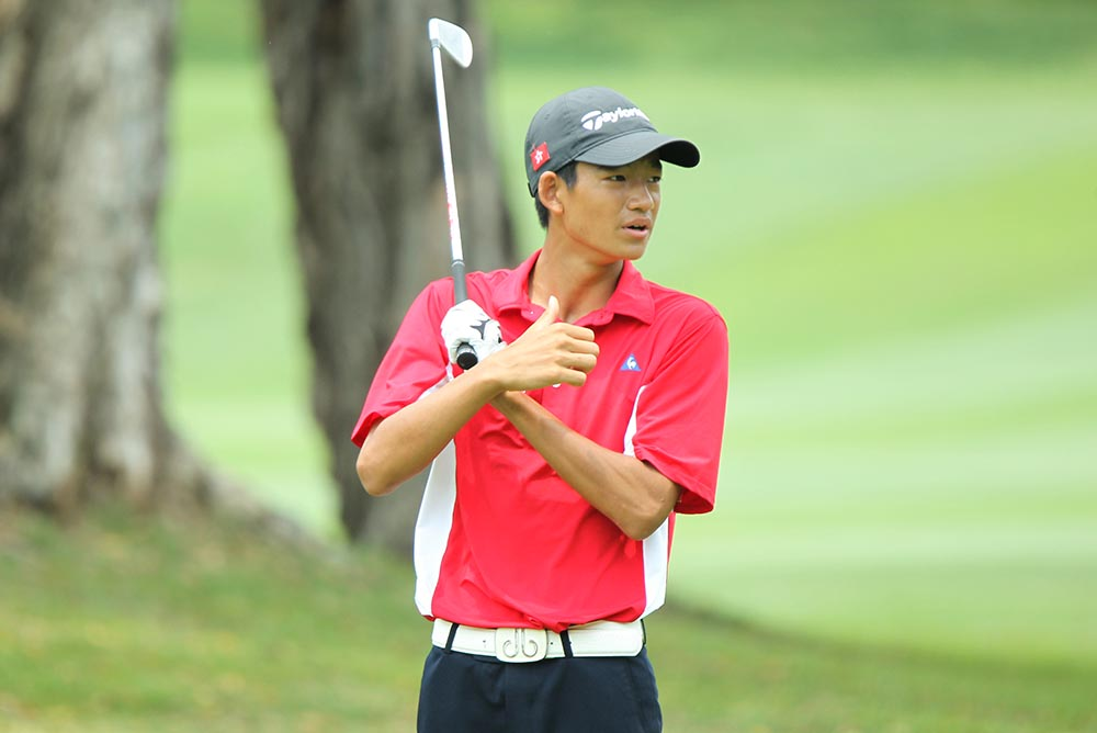 16-year-old Taichi Kho is no stranger to play-offs