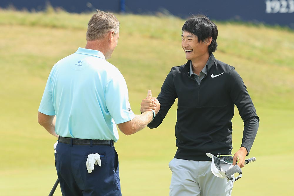 """ I always wanted to play The Open and to play so good means a lot,"" Li said"