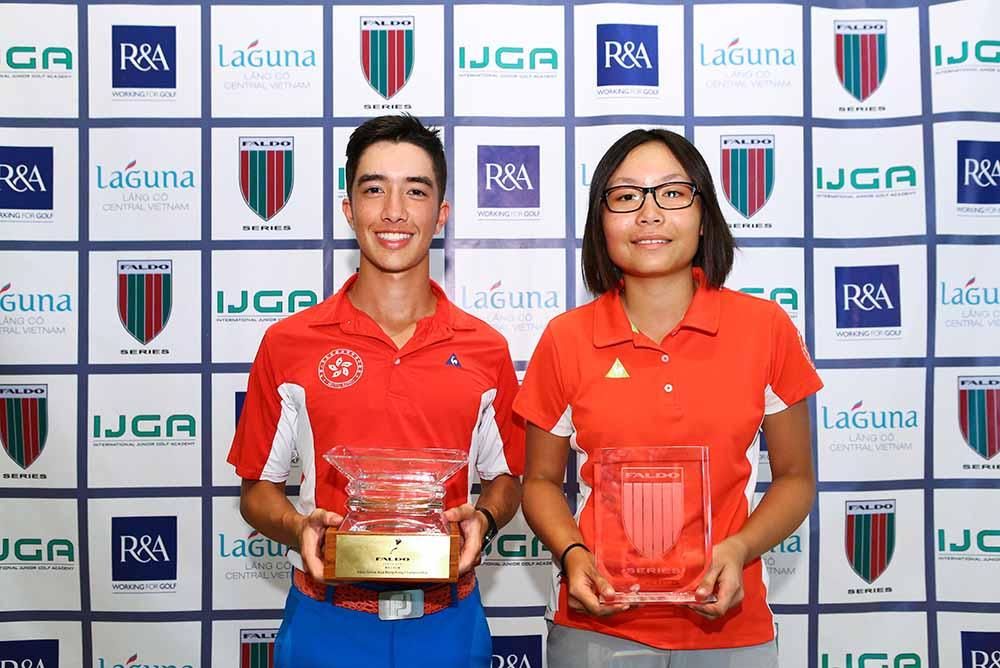 Artigolle shares the overall champion glory with Chloe Chan